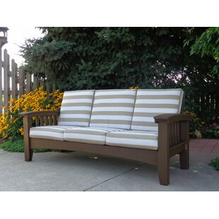 Days End Deep Seating Sofa with Cushion by Hershy Way