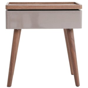Berkley Swivel Top End Table