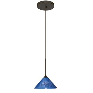 Besa Lighting Kona 1 Integrated Bulb Mini Pendant