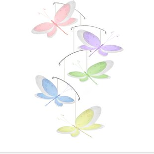 Affordable Krysta Dragonfly Multi-Layered Nylon Hanging Mobile ByHarriet Bee