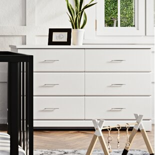 Brookside 6 Drawer Double Dresser by Storkcraft