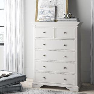 Stovall 6 Drawer Chest by Harriet Bee