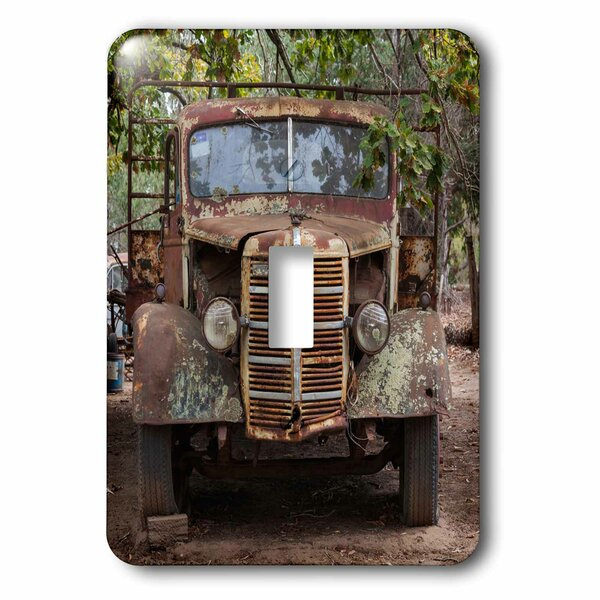 3drose Old Truck 1 Gang Toggle Light Switch Wall Plate Wayfair