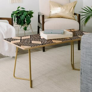 Online Reviews The Old Art Studio Cube Coffee Table by East Urban Home Reviews (2019) & Buyer's Guide