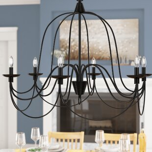 Ophelia & Co. Kollman 6-Light Chandelier