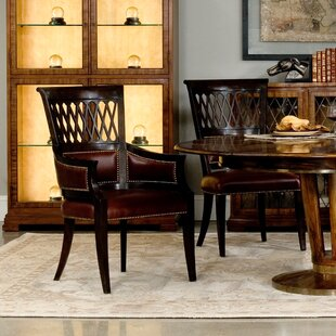 Exeter Upholstered Dining Chair (Set of 2) Sarreid Ltd