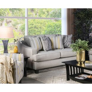 Great Price Ranson Loveseat by Charlton Home Reviews (2019) & Buyer's Guide
