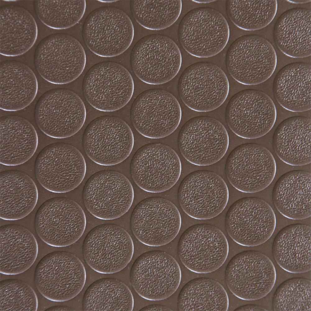 Coin Grip Anti Slip Rolled Rubber Mat