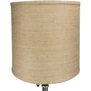 Burlap lamp shade wayfair mozeypictures Gallery