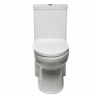 EAGO 1.28 GPF Elongated One-Piece Toilet