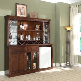 Fleur De Lis Living Chiaramonte Back Bar with Wine Storage