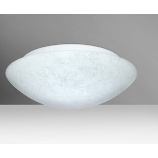 Nova 3-Light LED Outdoor Flush Mount by Besa Lighting