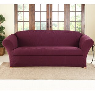 Shop For Box Cushion Sofa Slipcover by Sure Fit Reviews (2019) & Buyer's Guide