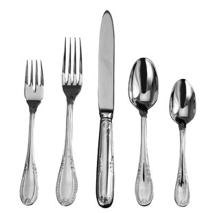 Impero 20 Piece 18/10 Stainless Steel Flatware Set, Service for 4