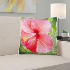 Hibiscus Pillow Wayfair