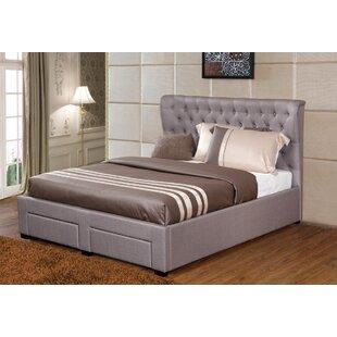 Lourenco Upholstered Storage Platform Bed by Willa Arlo Interiors