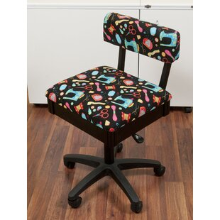 Red Barrel Studio Caspian Adjustable Height Hydraulic Sewing and Craft Office Chair