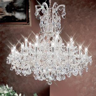 Classic Lighting Maria Thersea 25-Light Empire Chandelier