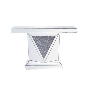 Zander Crystal Console Table ByRosdorf Park