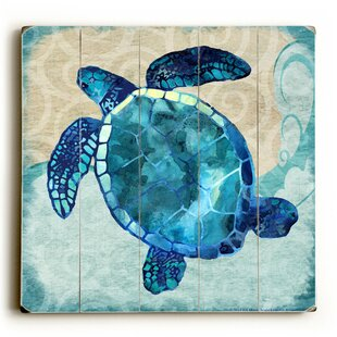 Nice Sea Turtle Graphic Art