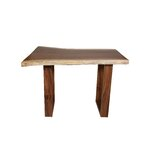 Windrim Counter Height Solid Wood Dining Table by Union Rustic