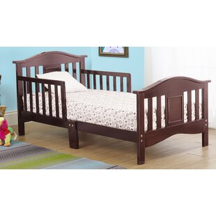 Contemporary Convertible Toddler Bed