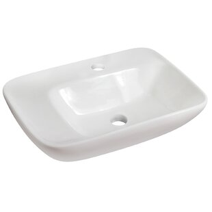 Bargain Ceramic Rectangular Vessel Bathroom Sink ByRoyal Purple Bath Kitchen