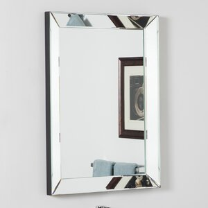 Rectangle Silver Vanity Wall Mirror