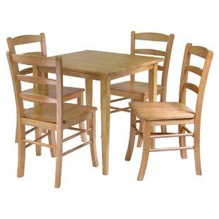 Loon Peak Avawatz 5 Piece Dining Set