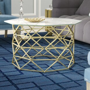 Nicolai Angular Coffee Table with Tray Top