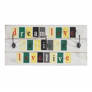 Love-Life Fekhara Wall Mounted Coat Rack By Latitude Vive