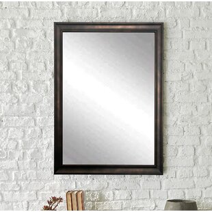 Clouded Bronze Wall Mirror By Brandt Works LLC