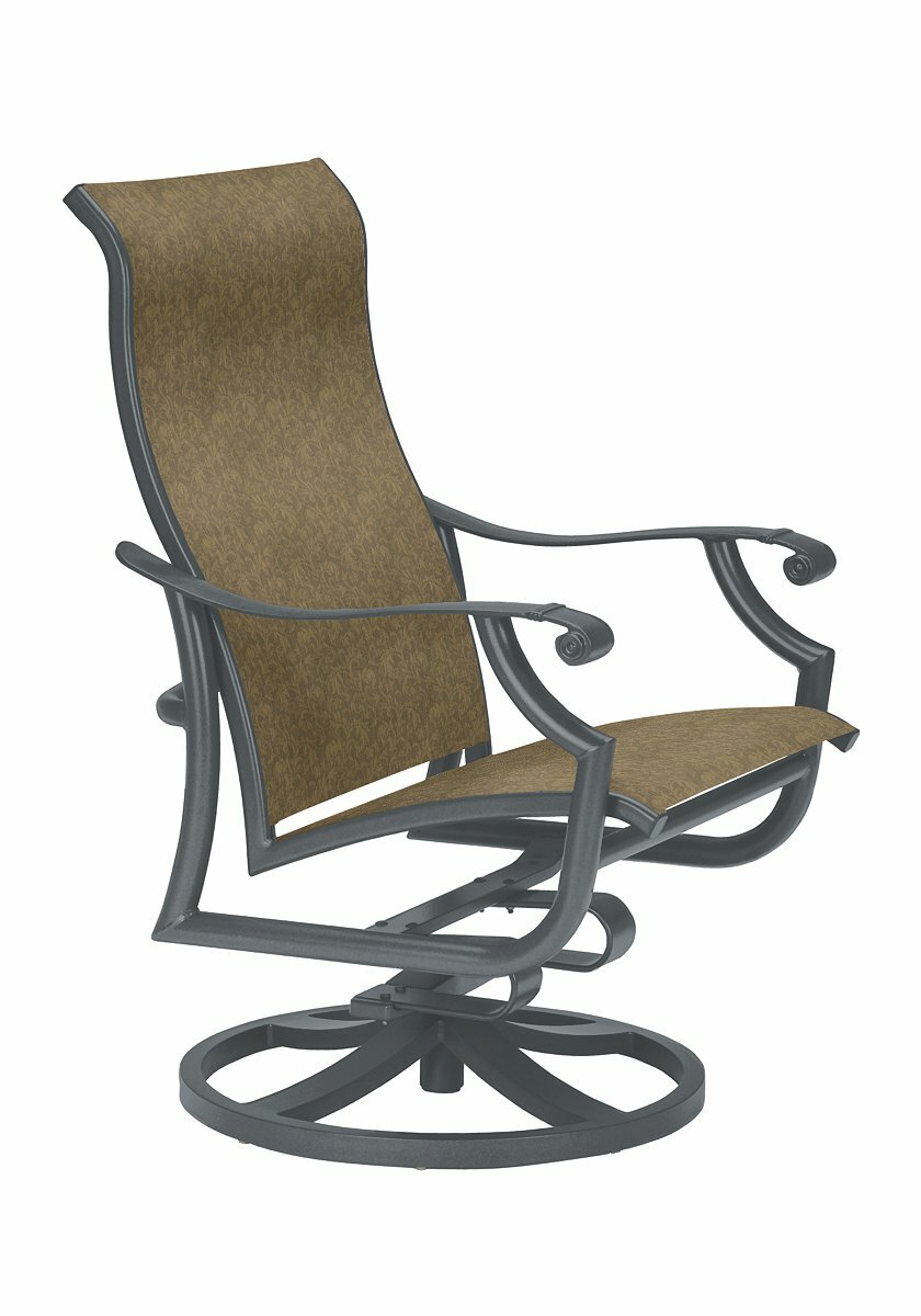 Tropitone Patio Chairs: Tropitone Montreux II Tropitone Swivel Patio Dining Chair