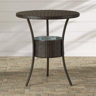 Brayden Studio Mattison Wicker Table with..