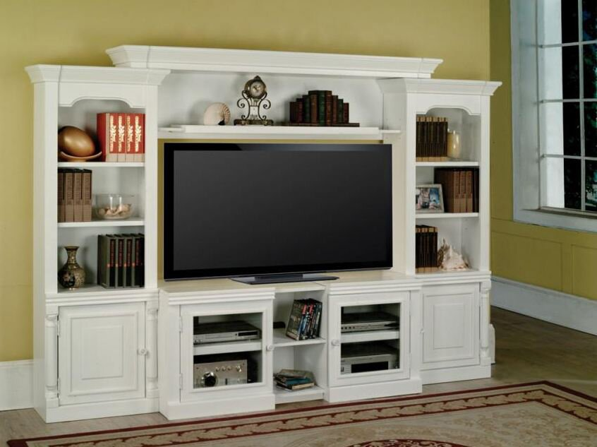 Darby Home Co Centerburg Expandable Entertainment Center & Reviews ...