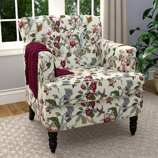 Farmhouse Accent Chairs Birch Lane - Decorative-floral-print-chairs-from-floral-art
