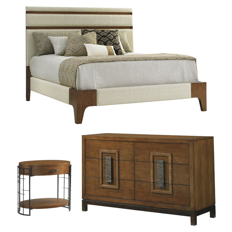 Tommy Bahama Home Island Fusion Panel Configurable Bedroom Set ...