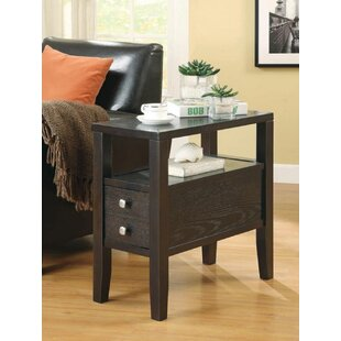 Red Barrel Studio Mignone End Table with Storage