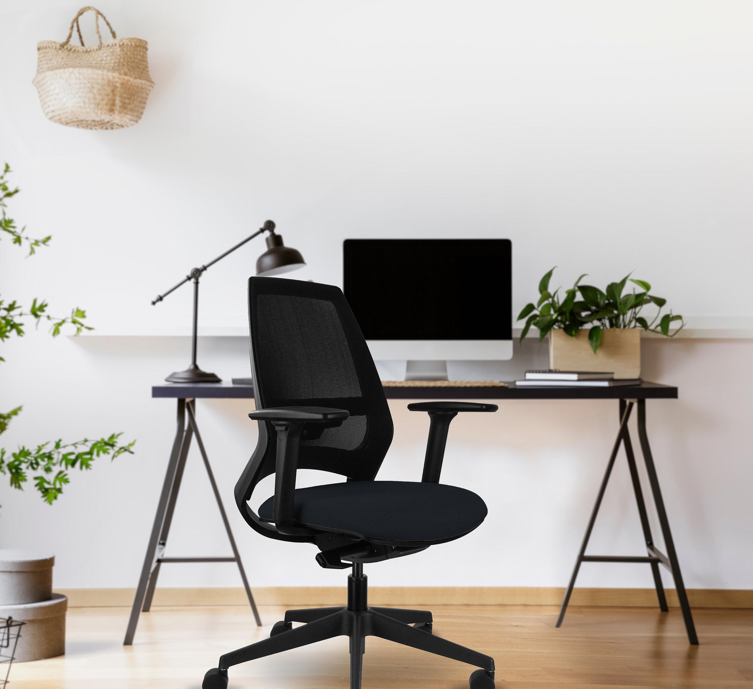 Ebern Designs Bonny Mesh Desk Chair Reviews Wayfair Co Uk