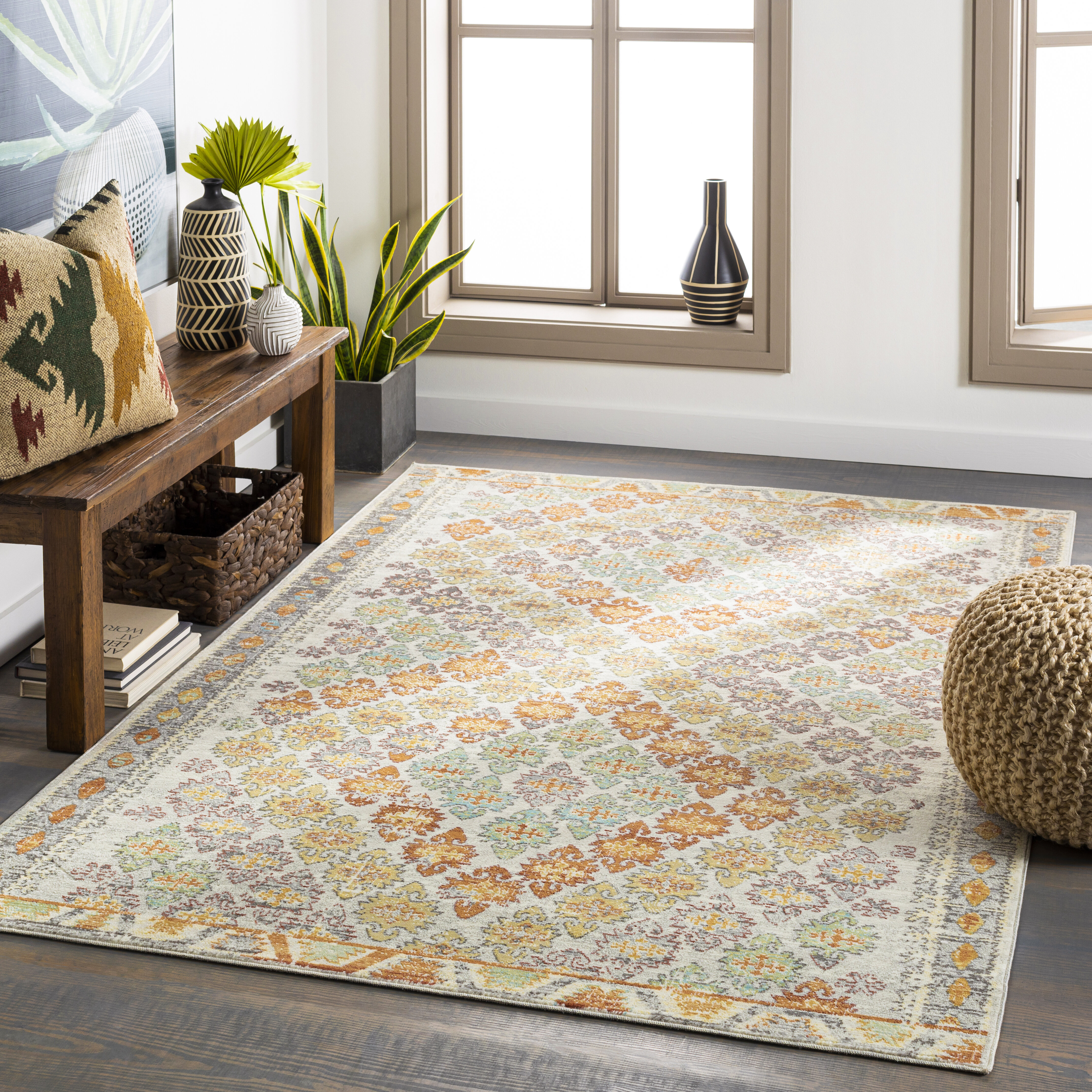 Ivory Cream World Menagerie 9 X 12 Rugs You Ll Love In 2021 Wayfair
