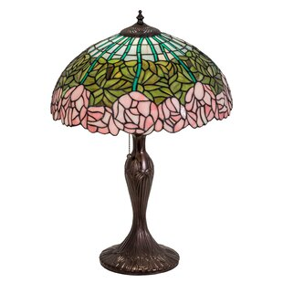 Cabbage Rose 21.5 Table Lamp
