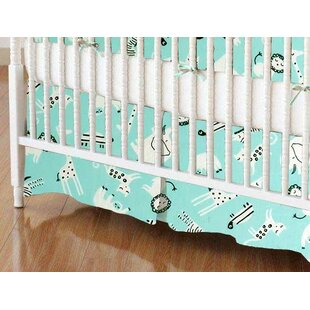 Shop For Safari Animals Crib Skirt BySheetworld