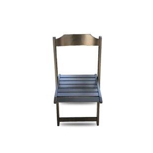 Winston Porter Chaplin Folding Patio Dining Chair (Set of 2)