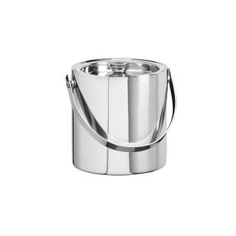 Charlton Home Rickert 1 5 Qt Double Wall Insulated Ice Bucket Reviews Wayfair