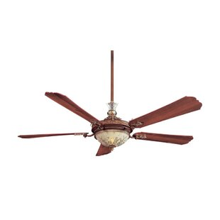 61 inch 70 inch ceiling fans youll love wayfair 68 cristafano 5 blade led ceiling fan aloadofball Choice Image