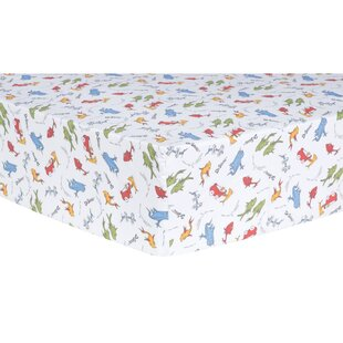Compare One Fish, Two Fish Fitted Crib Sheet ByTrend Lab