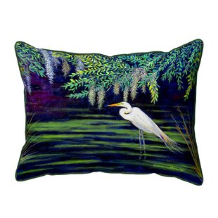 Egret Throw Pillows You Ll Love In 2021 Wayfair