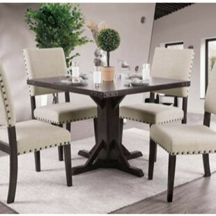 Cogan 5 Piece Solid Wood Dining Set