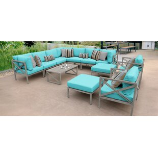 Carlisle 13 Piece Sectional Seating Group with Cushions