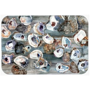 Bunch of Oysters Kitchen/Bath Mat